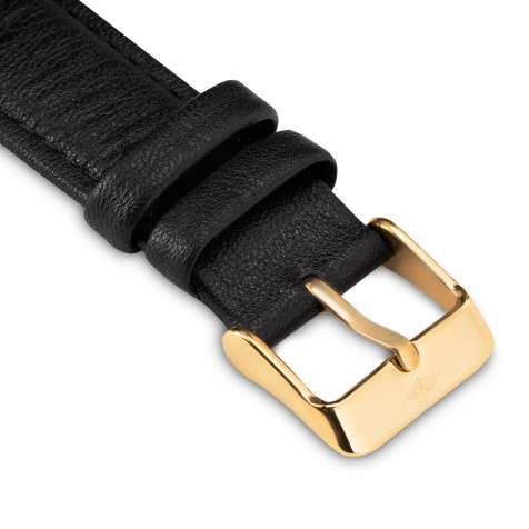 حزام جلد اسود